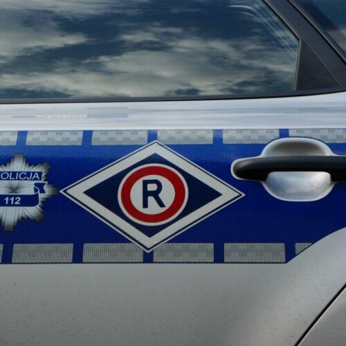 Zatrzymany za kierowanie samochodem będąc pod wpływem środków odurzających